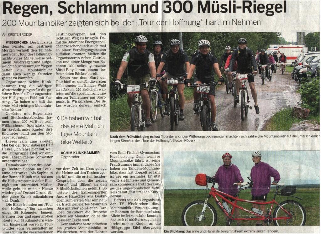 Kölnische Rundschau vom 09.07.2012